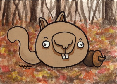 Angry Derp Squirrel | CrashOctopus Blog